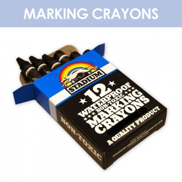 Black Crayons (12 pack)