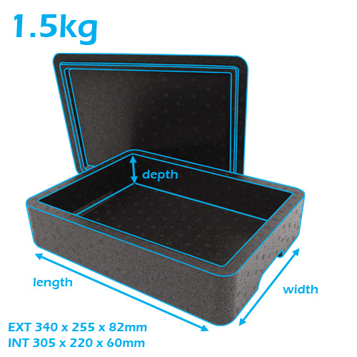 deluxe cold chain reusable box